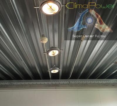 CLIMAPOWER SPRL - Eclairage LED - Chantier société VAG sécurité