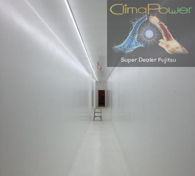 CLIMAPOWER SPRL - Eclairage LED - Chantier monsieur Debushere
